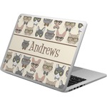 Hipster Cats Laptop Skin - Custom Sized (Personalized)