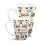 Hipster Cats Latte Mug (Personalized)