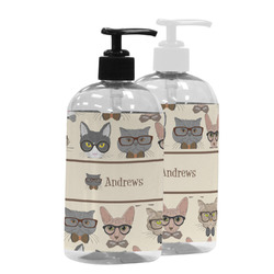 Hipster Cats Plastic Soap / Lotion Dispenser (Personalized)