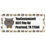 Hipster Cats Return Address Labels (Personalized)