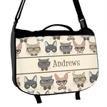 Hipster Cats Messenger Bag (Personalized)