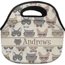Hipster Cats Lunch Bag (Personalized)