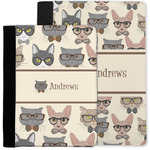 Hipster Cats Notebook Padfolio w/ Name or Text