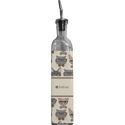 Hipster Cats Oil Dispenser Bottle (Personalized)