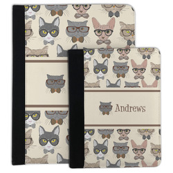 Hipster Cats Padfolio Clipboard (Personalized)