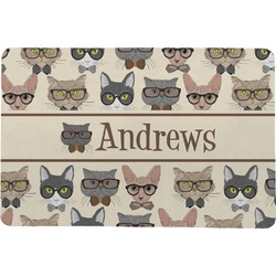 Hipster Cats Comfort Mat (Personalized)