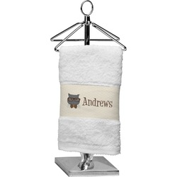 Hipster Cats Cotton Finger Tip Towel (Personalized)
