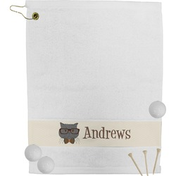 Hipster Cats Golf Towel (Personalized)