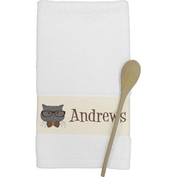 Hipster Cats Kitchen Towel (Personalized)