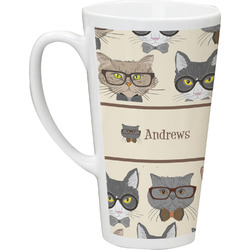 Hipster Cats Latte Mug (Personalized)