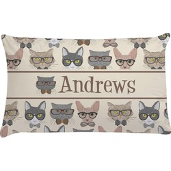 Hipster Cats Pillow Case (Personalized)