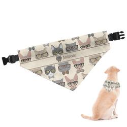 Hipster Cats Dog Bandana (Personalized)