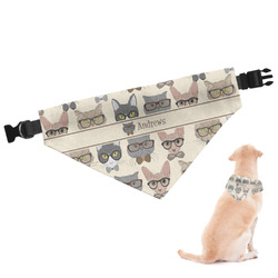 Hipster Cats Dog Bandana (Personalized)