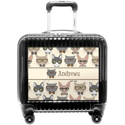 Hipster Cats Pilot / Flight Suitcase (Personalized)