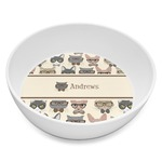 Hipster Cats Melamine Bowl 8oz (Personalized)