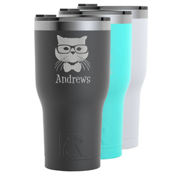 Hipster Cats RTIC Tumbler - 30 oz (Personalized)