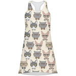 Hipster Cats Racerback Dress (Personalized)