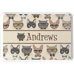 Hipster Cats Serving Tray (Personalized)