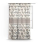Hipster Cats Sheer Curtains (Personalized)