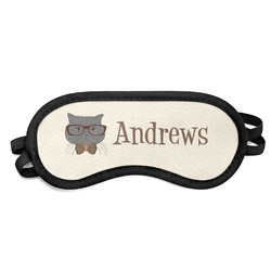 Hipster Cats Sleeping Eye Mask (Personalized)