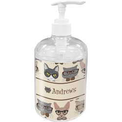 Hipster Cats Soap / Lotion Dispenser (Personalized)