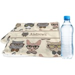 Hipster Cats Sports & Fitness Towel (Personalized)