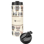 Hipster Cats Stainless Steel Tumbler (Personalized)