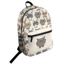 Hipster Cats Student Backpack (Personalized)