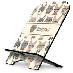 Hipster Cats Stylized Tablet Stand (Personalized)