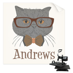 Hipster Cats Sublimation Transfer (Personalized)