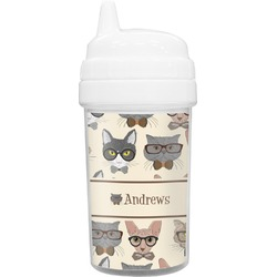 Hipster Cats Sippy Cup (Personalized)