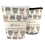 Hipster Cats Waste Basket (Personalized)