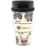 Hipster Cats Travel Mug (Personalized)