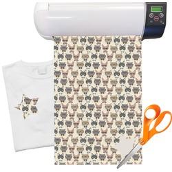Hipster Cats Heat Transfer Vinyl Sheet (12