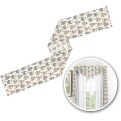 Hipster Cats Window Sheer Scarf Valance (Personalized)