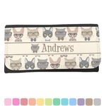 Hipster Cats Ladies Wallet (Personalized)
