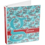 Peacock 3-Ring Binder (Personalized)