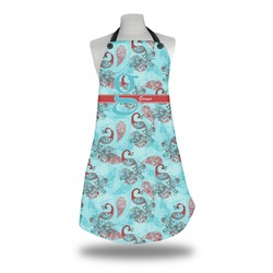 Peacock Apron (Personalized)