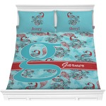 Peacock Comforters (Personalized)