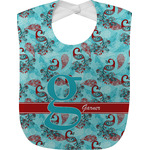 Peacock Baby Bib (Personalized)