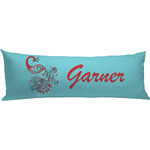 Peacock Body Pillow Case (Personalized)