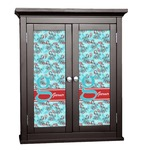 Peacock Cabinet Decal - Custom Size (Personalized)