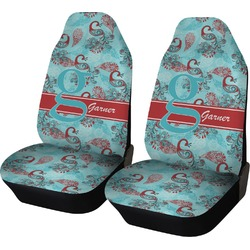 Peacock Car Seat Covers (Set of Two) (Personalized)