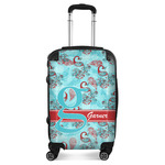 Peacock Suitcase (Personalized)