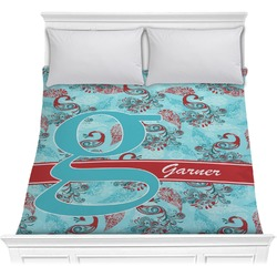 Peacock Comforter (Personalized)
