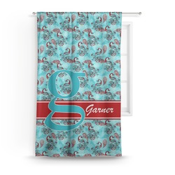 Peacock Curtain (Personalized)