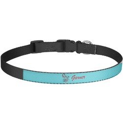 Peacock Dog Collar - Large (Personalized)