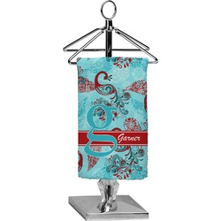 Peacock Finger Tip Towel - Full Print (Personalized)
