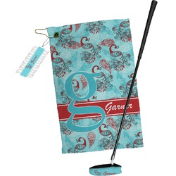 Peacock Golf Towel Gift Set (Personalized)