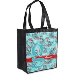 Peacock Grocery Bag (Personalized)